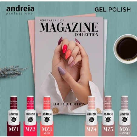 *GEL POLISH ANDREIA 10.5ml - Magazine MZ6