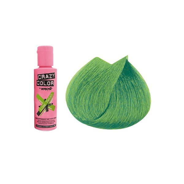 CRAZY COLOR 60ml LIME GREEN...