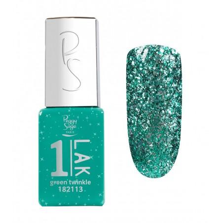 One-LAK 1-step gel polish green twinkle - 5ml