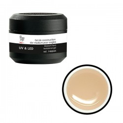 Gel UV de construction dur medium 15g