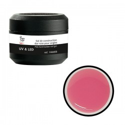 Gel UV de construction dur rose 15g