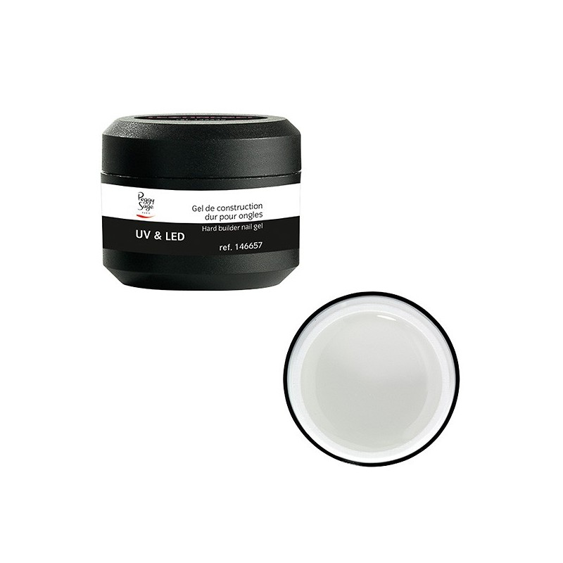 Gel UV de construction dur transparent 15g