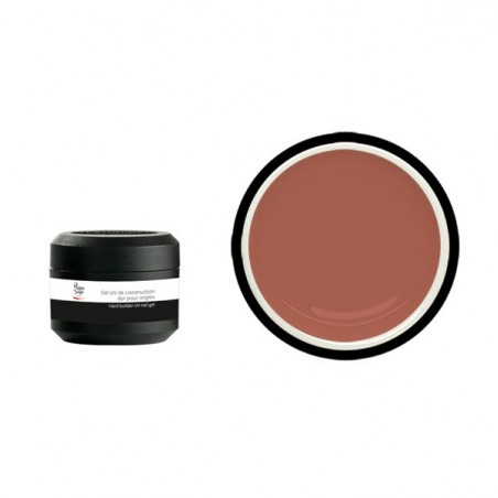 GelUV de construction dur camouflage rose 15g