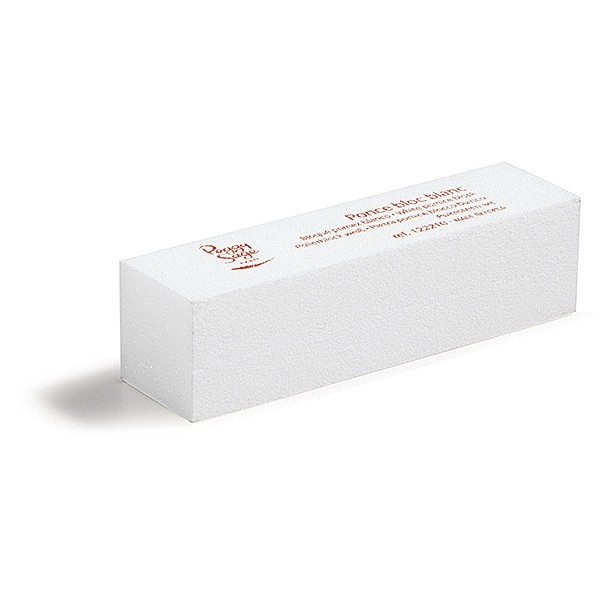 Ponce bloc blanc pour ongles