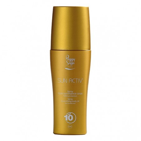 *Spray Huile sublimatrice corps 150ml SPF10