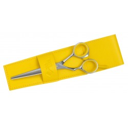 CISEAUX HAIR CUT FASHION T5 JAUNE GAUCHER