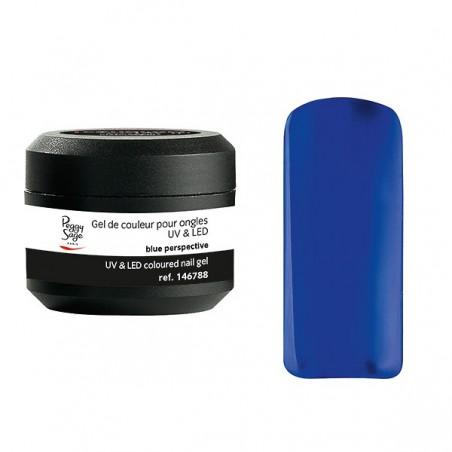 Gel UV et LED couleur pour ongles blue perspective 5g