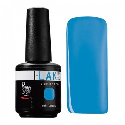 *Soak Off Gel Polish I-LAK - blue beach -15ml E