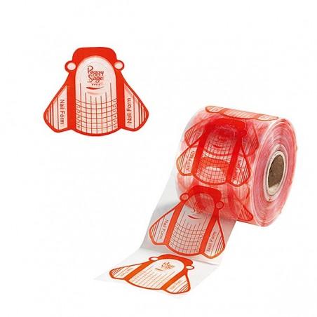 500 formes transparentes - rouge