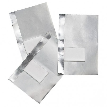 50 feuilles aluminium avec compresse intégrée