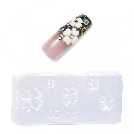 *Moule flexible nail art pour décors 3D