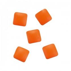 *Décors métalliques pour ongles studs orange