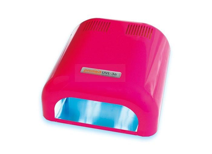LAMPE UV 4 TUBES BASIC PINK