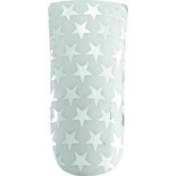 *nail foils decors adhesifs pour ongles white et silver stars