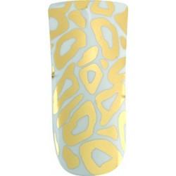 *nail foils decors adhesifs pour ongles golden leopard