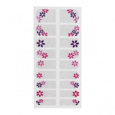 Décor adhésif pour ongles Precious nails flowers