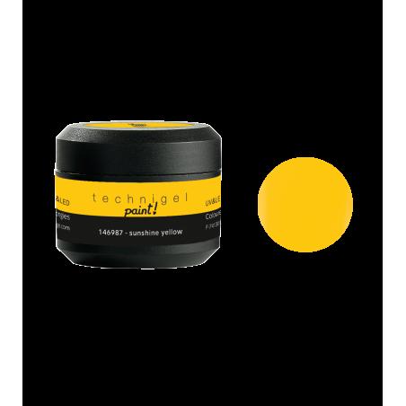 Gel UV et LED paint sunshine yellow  5g