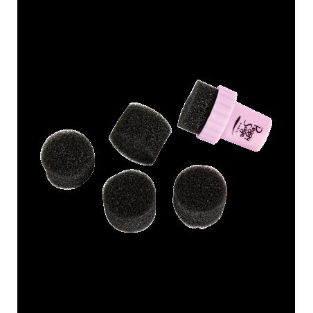 5 éponges + applicateur pour dégradés nail art
