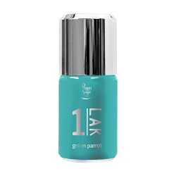 *One-LAK 1-step gel polish green parrot 10ml E