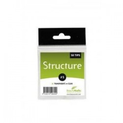 STRUCTURE SEMI-TRANSPARENTES N01 - 50 TIPS