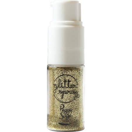 *Glitter Spray Gold E