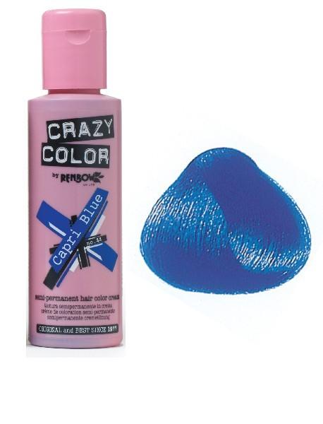 CRAZY COLOR 100ml CAPRI BLUE