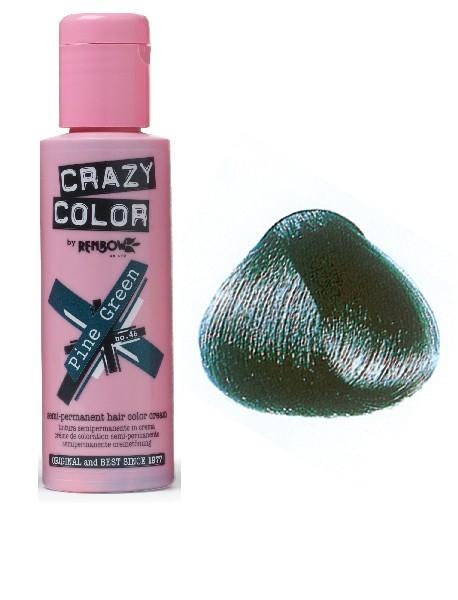 CRAZY COLOR 100ml PINE GREEN