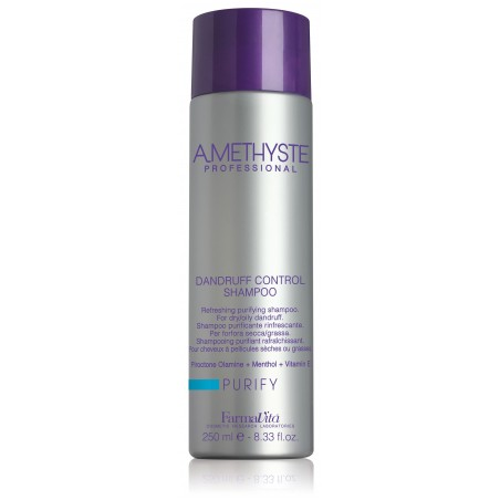 SHAMPOING PURIFIANT ANTI PELLICULAIRE  AMETHYSTE 250ML