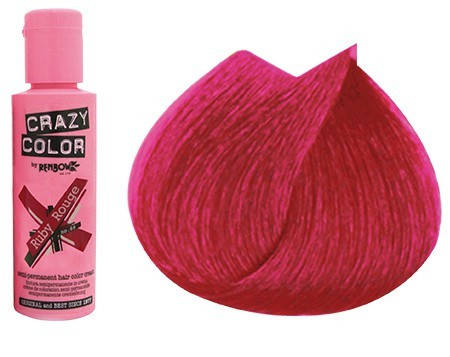 CRAZY COLOR 60ml ROUGE RUBY