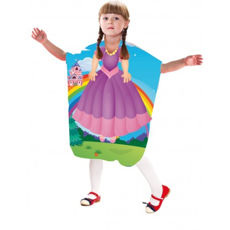 Peignoir cape enfant dessin ELSA-QUEEN