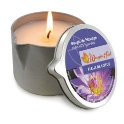 Bougie de Massage Fleur de Lotus 160g