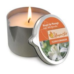 Bougie de Massage Fleur d'Oranger 160g