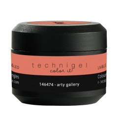 Gel UV et LED couleur pour ongles arty gallery  5g