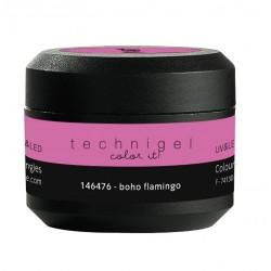 Gel UV et LED couleur pour ongles boho flamingo  5g