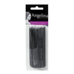 Pinces lisses Kifix noir (7cm) x30
