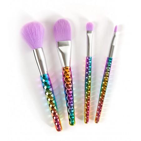 Set 4 pinceaux make-up Unicorn