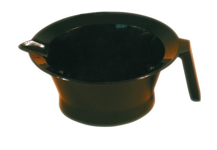 Bol Teinture noir avec poigné