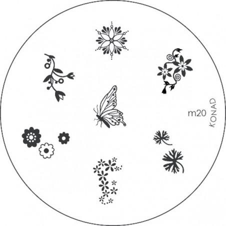 POCHOIR A MOTIFS CALIBRE M3