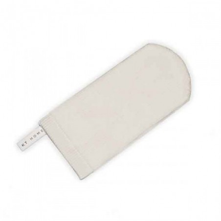 Démaquigant Taille S Gant démaquillant blanc 2D