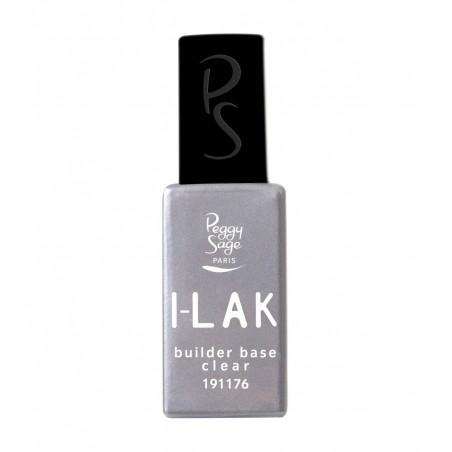 I-LAK soak off gel polish Builder base Clear - 11ml