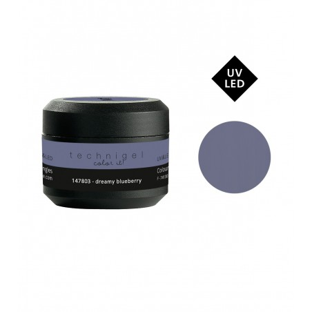 Gel UV et LED couleur pour ongles dreamy blueberry 5g