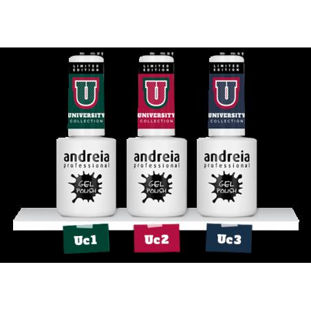*GEL POLISH ANDREIA 10.5ml - UNIVERSITY UC2 CERISE