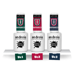 *GEL POLISH ANDREIA 10.5ml - UNIVERSITY UC3 BLEU MARINE
