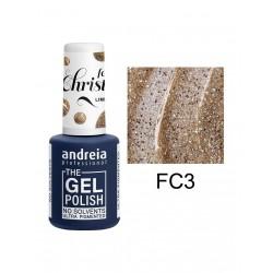 *THE GEL POLISH ANDREIA 10.5ml - Feels Christmas FC3
