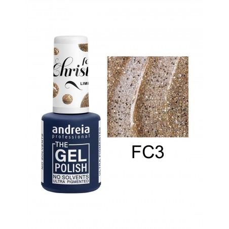 *THE GEL POLISH ANDREIA 10.5ml - Feels Christmas FC3