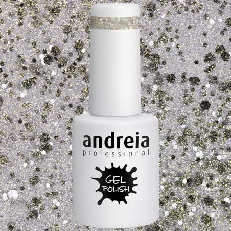 GEL POLISH ANDREIA 10.5ml - Sparkly 254